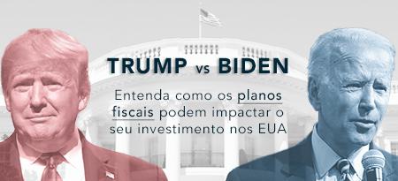 Trump vs Joe Biden planos fiscais